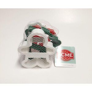 Lot of 4 New Acme Christmas Winter Cookie Cutters
